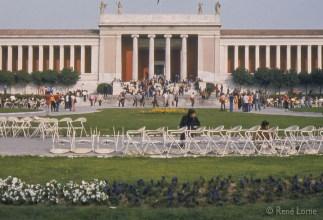 Musée national d'archéologie d'Athènes. Abrite l'une des plus vastes collections d'antiquités grecques au monde.
