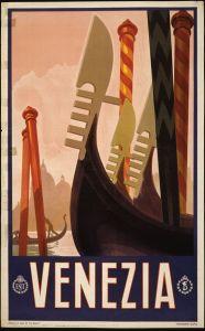 Affiche touristique datant de 1920