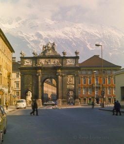L'arc de triomphe d'Innsbruck