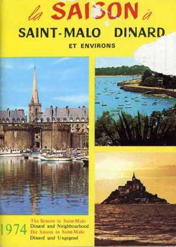 Brochure sur les activités de 1974