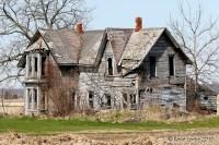 Maison en ruine - Talbot Trail - route 3