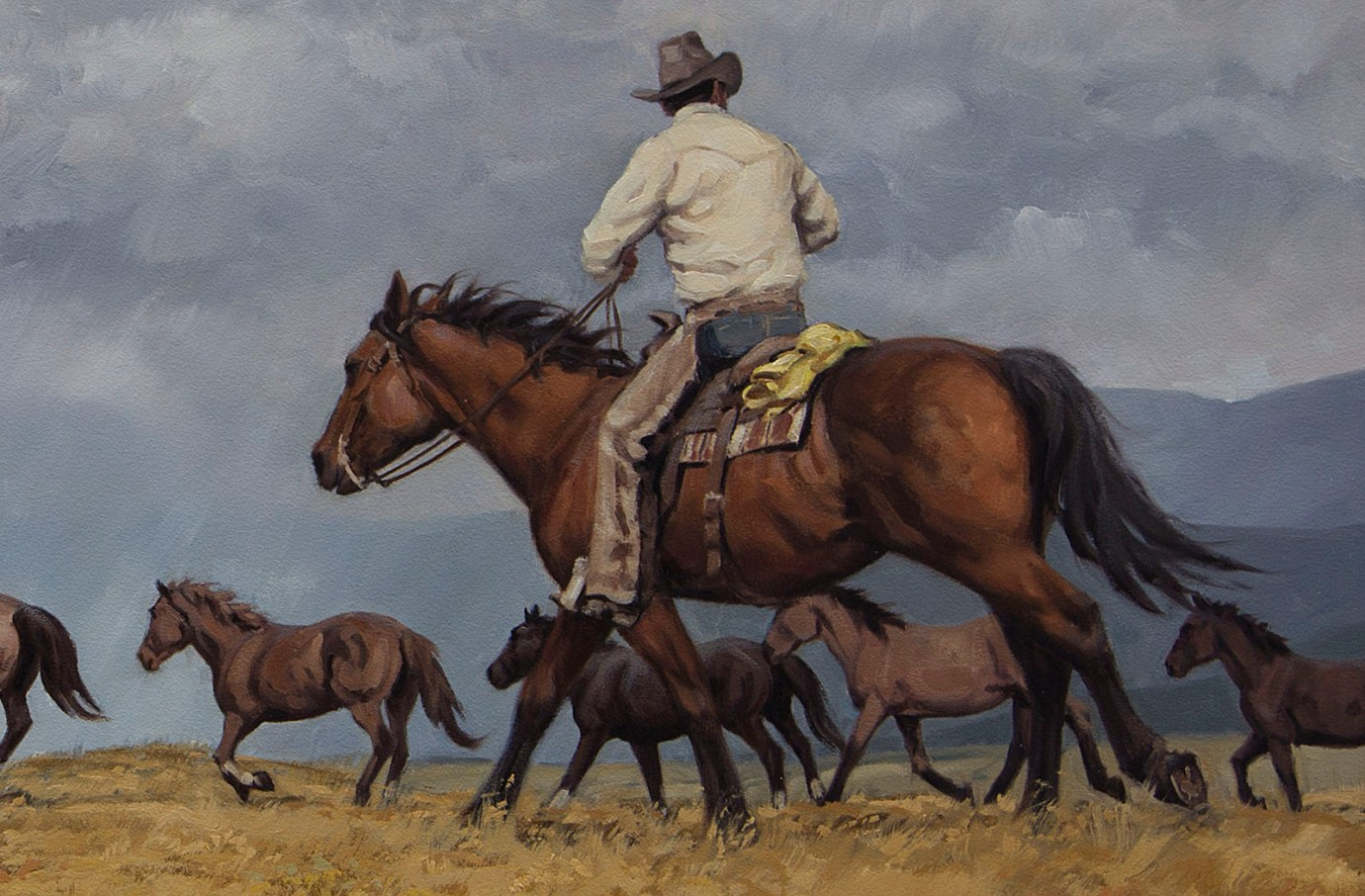 _D4L7461-RichardFreeman-Headin for the corral-no_frame-detail