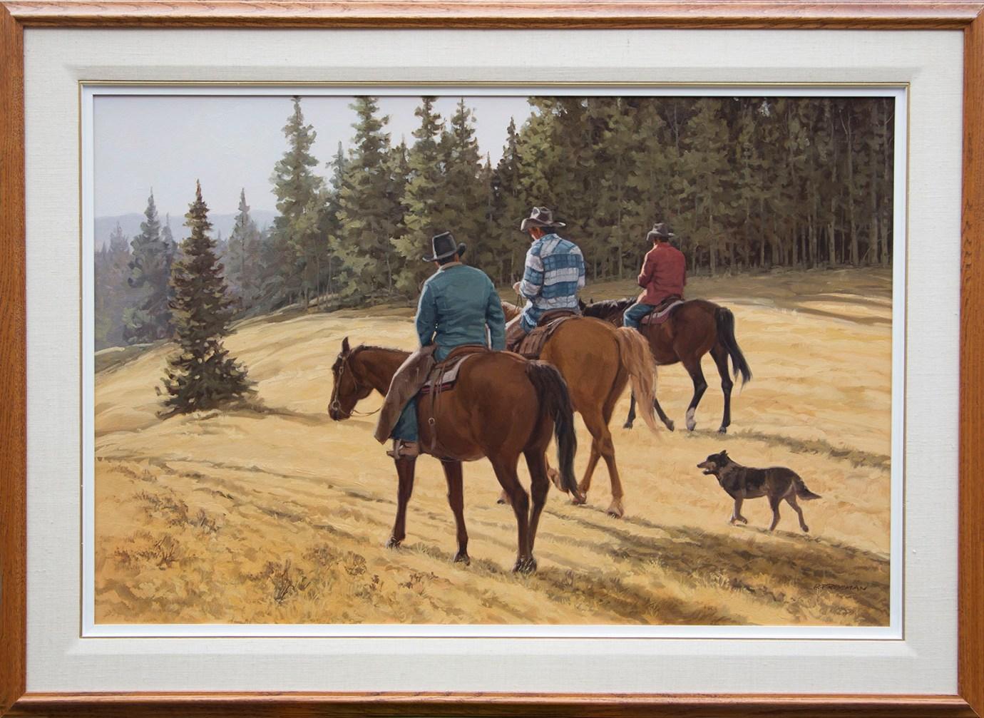 Returning riders - cadre