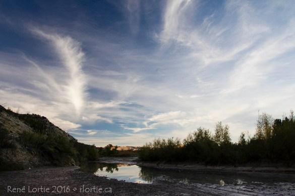 Santa Elena Canyon - Au début du sentier