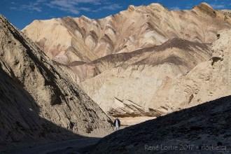 Le sentier de Golden Canyon