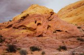 Formation rocheuse de Valley of Fire, Nevada