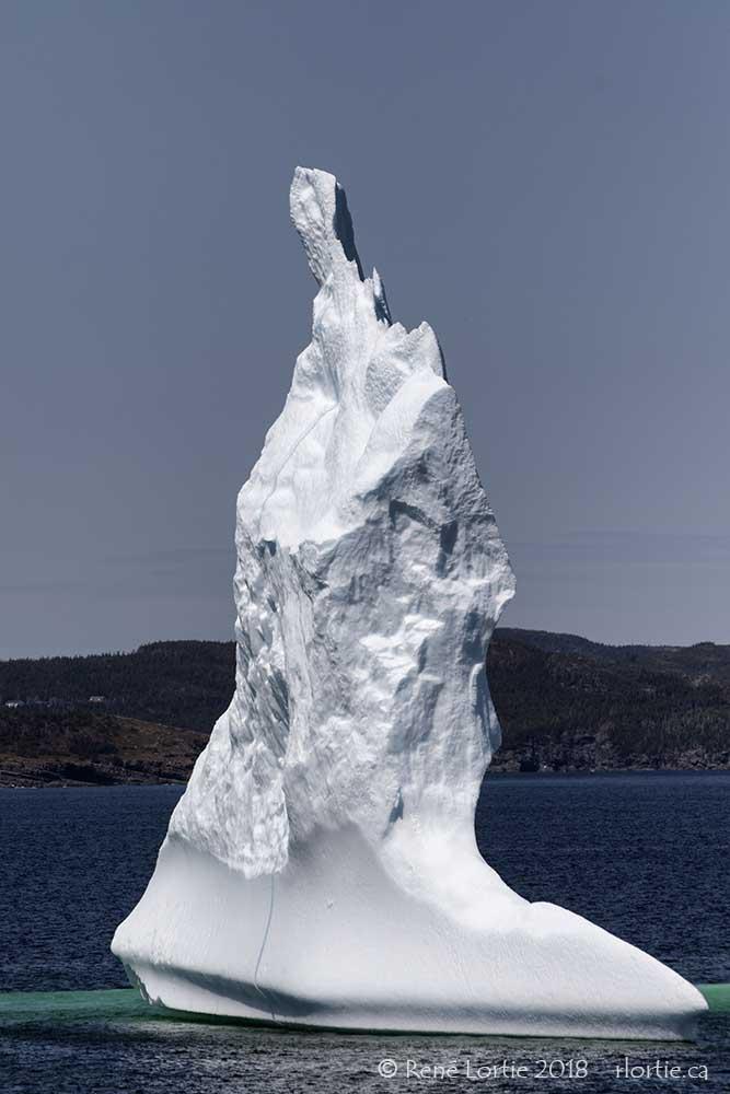 L'Iceberg de Upper Amherst Cove (pointe centrale)