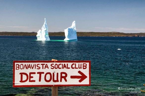 L'Iceberg de Upper Amherst Cove (angle différent)