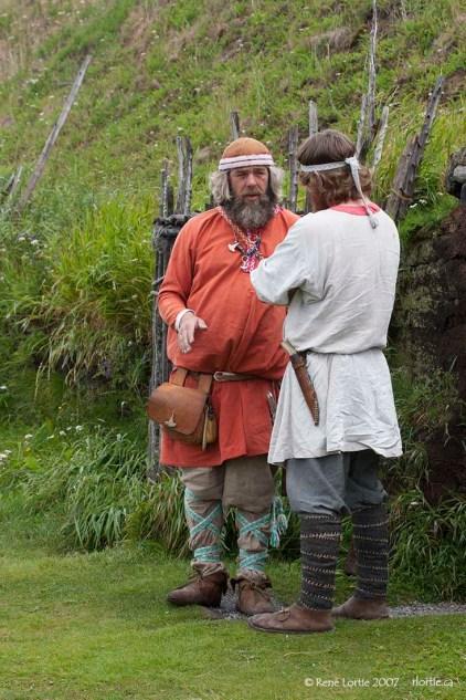 Personnages Vikings - Anse-aux-Meadows