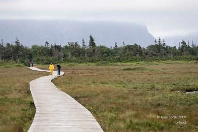 Sentier Western Brook Pond en 2007