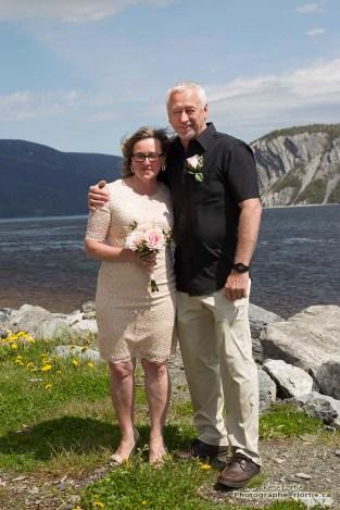 Surprise... J'ai assisté au mariage de ce couple à Norris Point