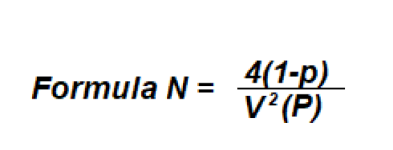 safety sampling formula