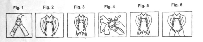 Full body safety harness fitting