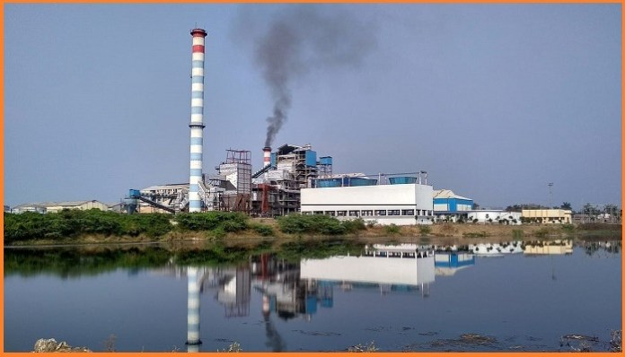 Air pollution in industrial plant