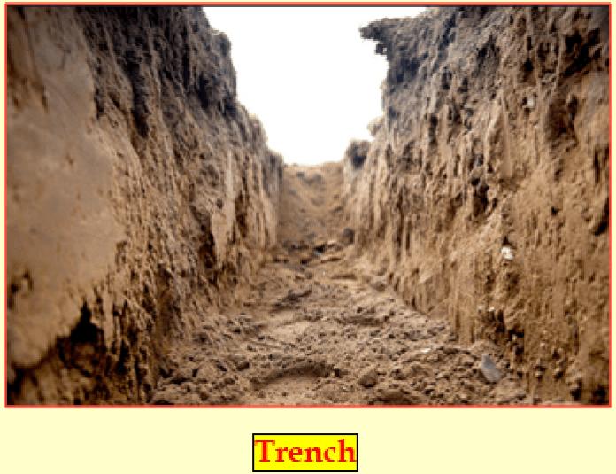 Excavation Trench