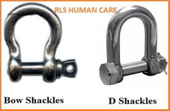 Lifting Shackle D shackle Bow shackle