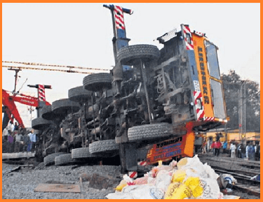 Crane accident bilaspur