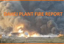 DAHEJ PLANT FIRE REPORT