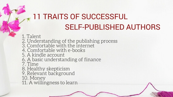 11 traits of successful self-published authors