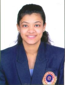 5. Ms. Nikita Mishra B.Sc.III Colour Coat in Judo