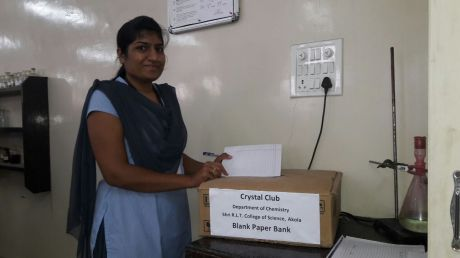 Crystal Club of Chemistry Department