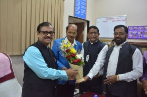 Visit of Adv. Ujwal Nikam to our college