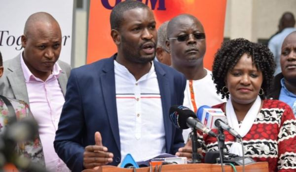 'I WILL RESIGN AS SG OF ODM IF THIRDWAY ALLIANCE GETS 1MILLION SIGNATURES'-EDWIN SUFUNA