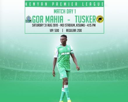 GOR MAHIA TO FACE TUSKER AT KISUMU STADIUM THIS SATURDAY