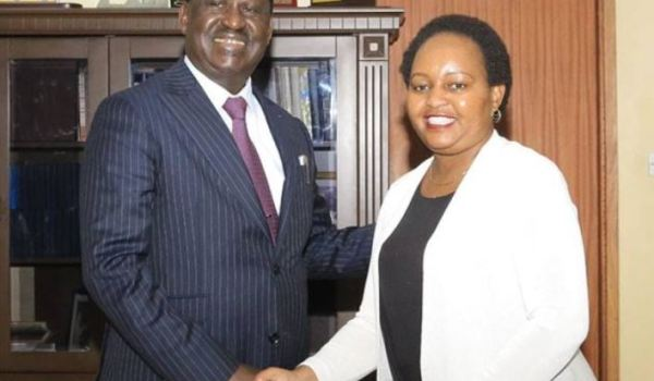 ANNE WAIGURU OPEN TO FORM AN ALLIANCE WITH RAILA ODINGA