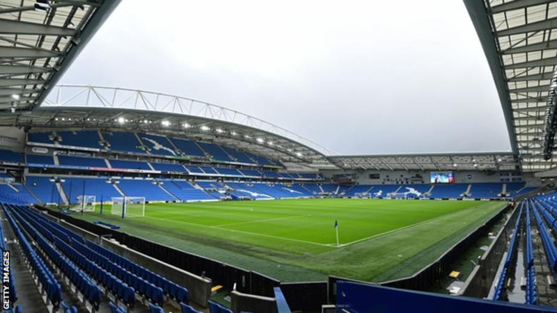 Five of Brighton's remaining nine Premier League fixtures are due to be played at the Amex Stadium