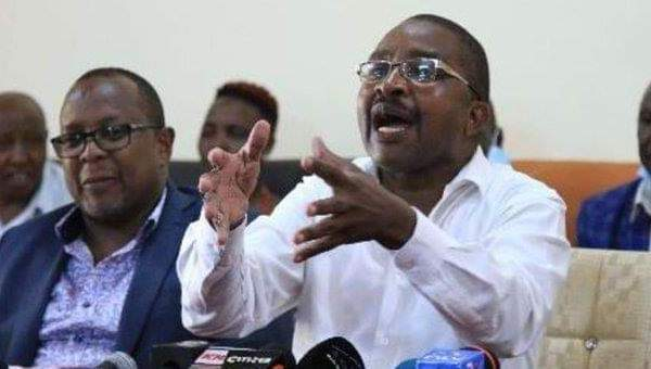 Wa iria declares to run for presidentcy 2022