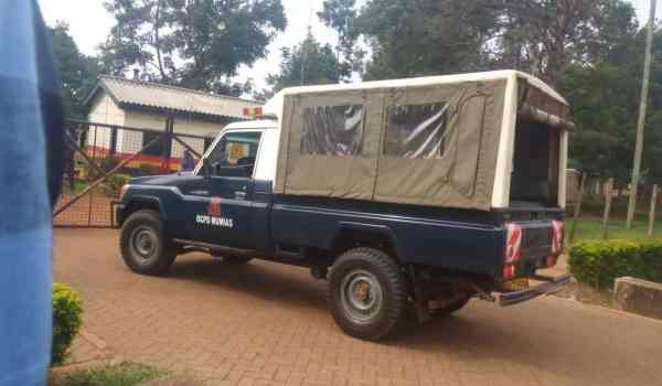 The 2 officers killed in ambush by suspected bandits in Kapedo.