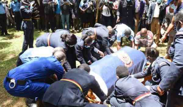 Officer killed by her husband buried in Kakamega