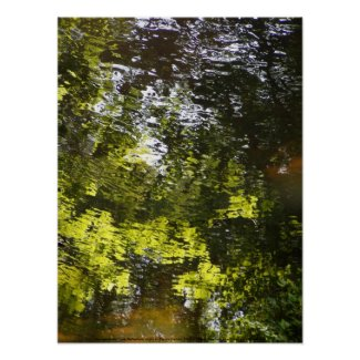 Impressionistic Water Reflections #1