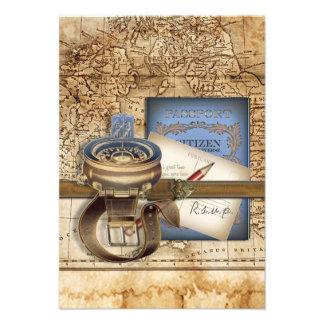 Die Reisender UAWG Karten Ankündigungskarte