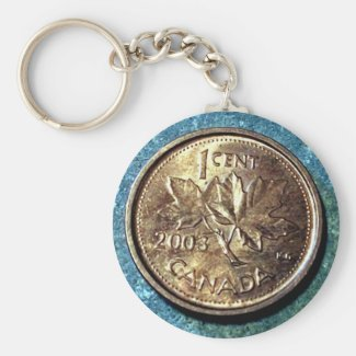 2003 Canadian Penny (Front) Key Chain