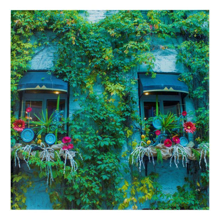 Colorful Window Acrylic Art