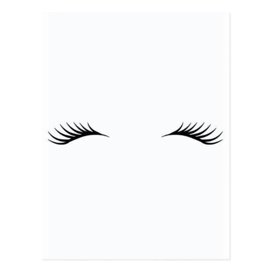 Unicorn eyelash template for Eyelash template
