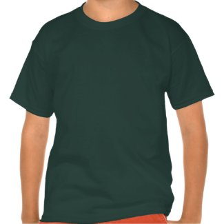 Red Panda shirts with green fabric