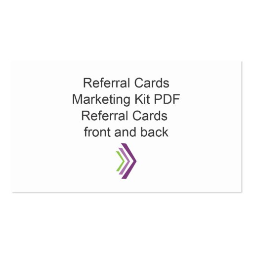 Referral Cards Template. boudoir photography referral card flyer ...