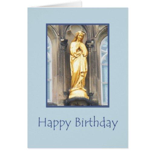 St Mary Catholic Church Happy Birthday Card Zazzle