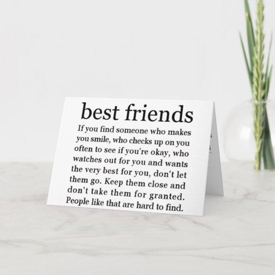 Thinking Of My Best Friend Happy Birthday Card Zazzle Ca