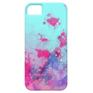 Whimsical wisp iPhone 5 case