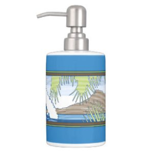 Ala Moana Hawaiian Surf Home Decor   Pets Products   Zazzle co nz Ala Moana Diamond Head Hawaiian Surf Sign Bathroom Set