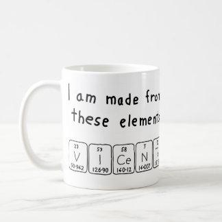Periodic table mug nz periodic diagrams science vicente periodic table name mug name vicente coffee mugs zazzle co nz urtaz Image collections