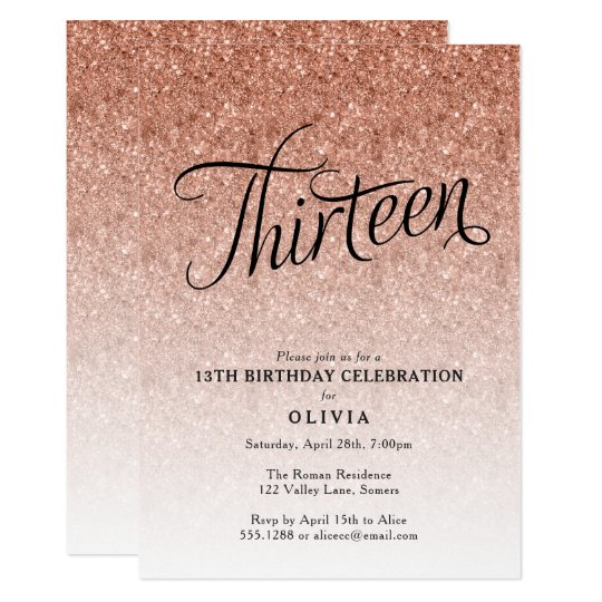 Printable 21st Invitations