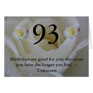 93rd Birthday Cards Photo Card Templates Invitations Amp More