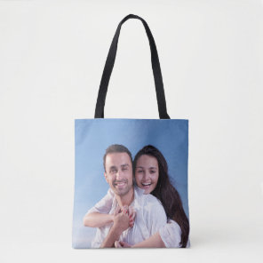 Add Your Own Custom Photo Tote Bag