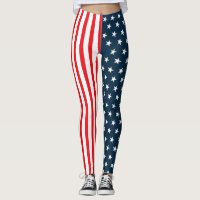 American Flag | The Stars And Stripes Leggings