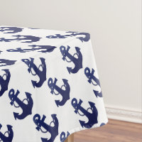 Anchor tablecloth